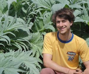 """Clément : """"Je suis parti en stage dans un ranch en Californie faire de l'agriculture biologique"""""""
