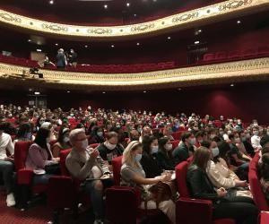 Des étudiants en droit font leur rentrée dans l'Opéra de Metz