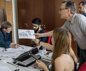 L'IPJ Paris-Dauphine et les ArtsDéco àl'unisson pour former desdessinateurs depresse