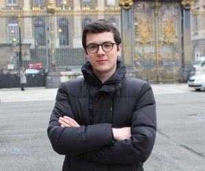 Luca Vergallo, étudiant à Sciences po et organisateur dejeux desimulation decrise