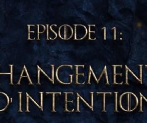 Game of talks: changements d'intention