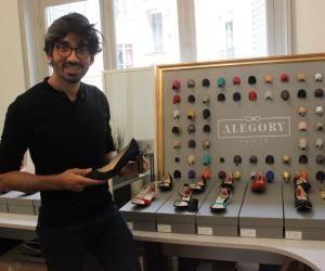 Il est lauréat du concours Lépine 2016 grâce à ses chaussures à talons amovibles