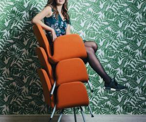 """Les 20 ans de Céline Lazorthes, fondatrice de Leetchi : """"J'ail'impression de changer le monde"""""""