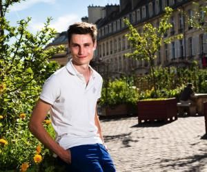 Étudier à Caen : les avantages selon Martin