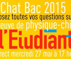 Tchat Bac 2015 : Les réponses à vos questions sur l'épreuve de physique-chimie
