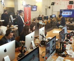 Présidentielle 2017 : les étudiants en journalisme de Sciences po en live
