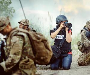 Photographe de guerre : un métier passion à haut risque