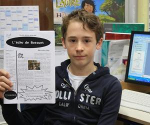 Semaine de la presse à l'école : rencontre avec les élèves du collège Bossuet