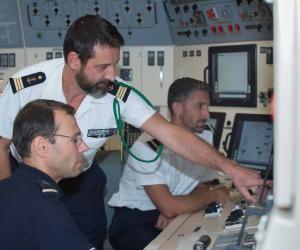 Walid, ingénieur et marin