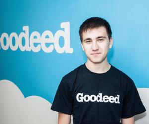 Le jeune inventeur de Goodeed part à la conquête du monde