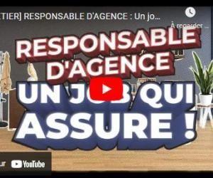 Métiers de l'assurance : Responsable d'agence
