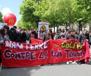 """Loi Travail : étudiants et lycéens prévoient un mois de mai """"chaud"""""""