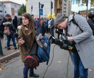 Au cœur de l'École de journalisme de Toulouse