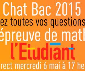 Tchat Bac 2015 : Les réponses à vos questions sur l'épreuve de mathématiques