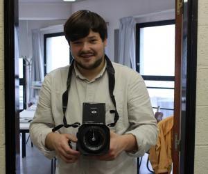 Ma vie d'étudiant à l'école d'arts de Paris-Cergy : Hubert, la photo dans la peau