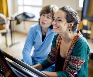 """Lycéenne et musicienne: """"Étudier la musique nous apprend la discipline"""""""