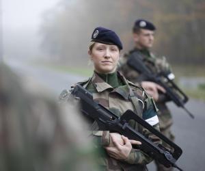 L'armée de Terre recrute aussi des femmes