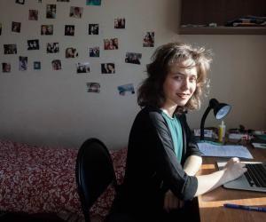 Ma vie d'étudiante à Moscou : Albertine, en troisième année à Sciences po