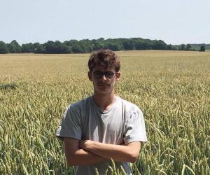 """Théo, candidat au bac pro agricole : """"Ce qui m'effraie le plus, c'est entrer dans la vie active"""""""