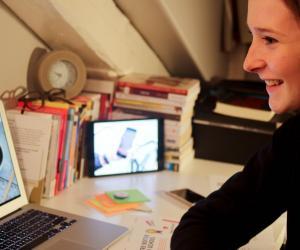 Cette entrepreneuse de 16 ans a créé une appli pour en finir avec l'appel en classe