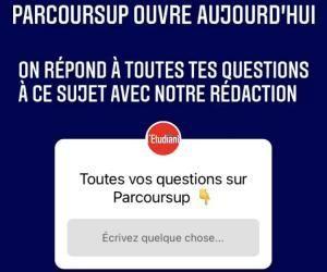 Ouverture de Parcoursup : l'Etudiant répond à vos questions