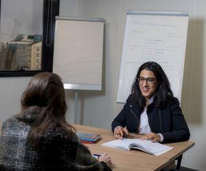 """Maryam, 28 ans, créatrice de start-up : """"J'avais envie d'apprendre le monde des affaires"""""""
