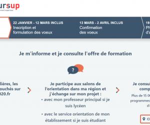 Cinq étapes pour se repérer sur la phase d'information de Parcoursup 2020