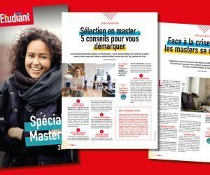 Guide de l'Etudiant - Spécial Masters (Nouveau!)