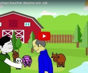 2 minutes pour comprendre… le métier d'artisan boucher - Draw My Job