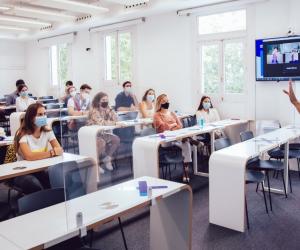 Covid-19: Les campus de IE University sont ouverts : 80% des étudiants sont en présentiel