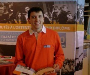 """Bastien, en master à Sup de Co Montpellier : """"Ici aucune année d'études ne ressemble à une autre"""""""