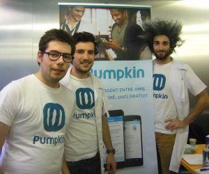 """Victor, Constantin et Hugo, fondateurs de Pumpkin : """"Si vous avez un projet de start-up, parlez-en !"""""""
