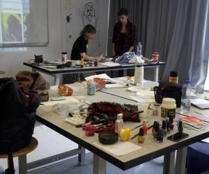 Écoles d'art : le workshop, un laboratoire pour apprentis artistes