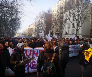 Les organisations étudiantes mobilisées contre la réforme des retraites