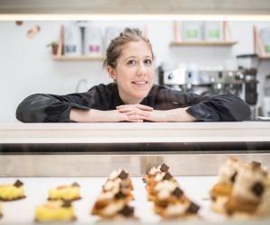 À 28 ans, Bérénice Leconte a créé sa pâtisserie vegan