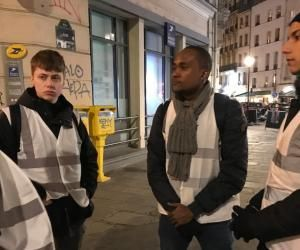 Bénévolat : les étudiants de l'Efrei Paris partent en maraude dans la capitale