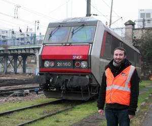 Ingénieurs et scientifiques à la SNCF : Guillaume, 24 ans, technicien de maintenance des voies