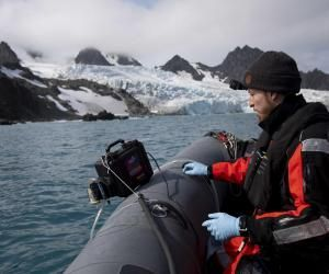 Nacim raconte son expédition avec Greenpeace en Antarctique