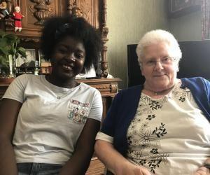 Logement étudiant : jeune et retraité, deux générations sous le même toit