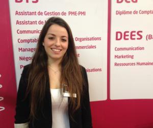 """Sofia, en M2 management et stratégie d'entreprise : """"Ma formation en alternance répond vraiment aux besoins de mon entreprise"""""""