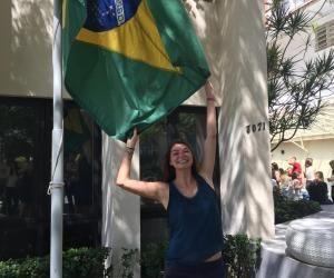 Ma vie d'étudiante au Brésil : Camille fait le plein d'énergie