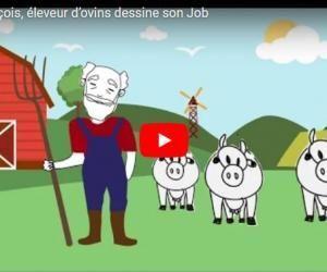 2 minutes pour comprendre… le métier d'éleveur d'ovin - Draw My Job