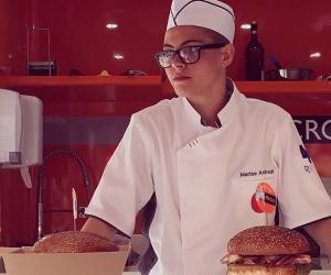 Marine Andrault gagne un prix grâce à son hamburger
