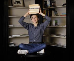 À 16 ans, Guillaume Benech est écrivain, éditeur et chroniqueur